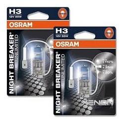 OSRAM 12V 55W  H3 64151NBU-01B