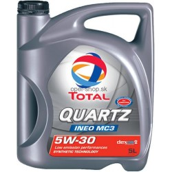 TOTAL QUARTZ INEO MC3 5W-30 5 L