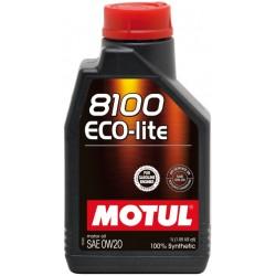 MOTUL 8100 Ecolite 0W-20 12X1 L 104981