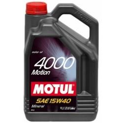 MOTUL 4000 MOTION 15W-40 4L 100294