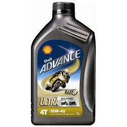 SHELL ADVANCE 4T ULTRA 10W-40 1L