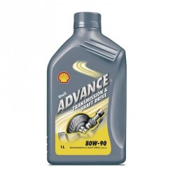 SHELL ADVANCE TRANSMISSION 80W-90 1L
