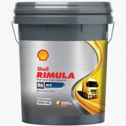 SHELL RIMULA R6 MS 10W40 20L°