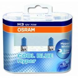 OSRAM H3 COOL BLUE HYPER BOX 62151CBH°
