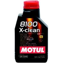 MOTUL 8100 X-CLEAN 5W-40 1L 102786