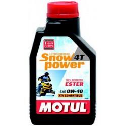 MOTUL SNOWPOWER 4T 0W-40 1L 101230